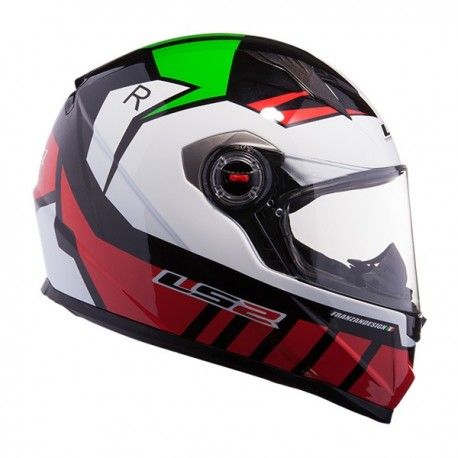 LS2 Voltage White-Red-Green