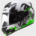 LS2 Rookie FF352 One Blk-Fluo-Green
