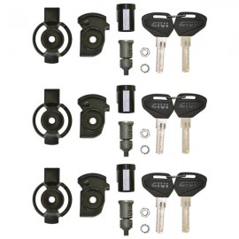 Kit Unificazione Chiavi Security Lock Givi per 3 valigie